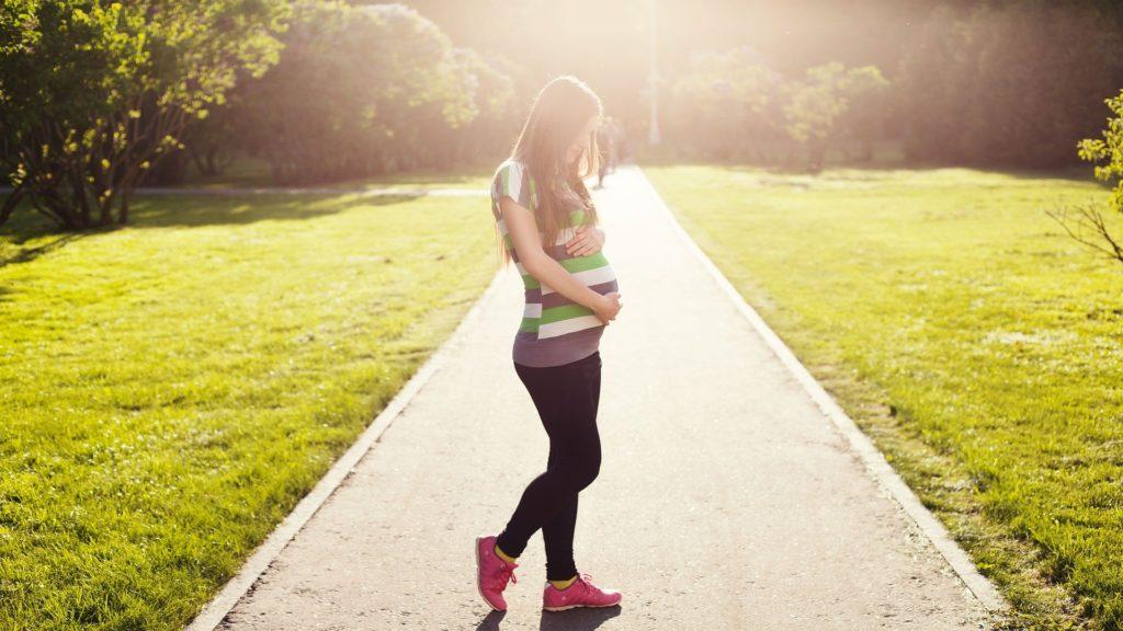 sport schwanger